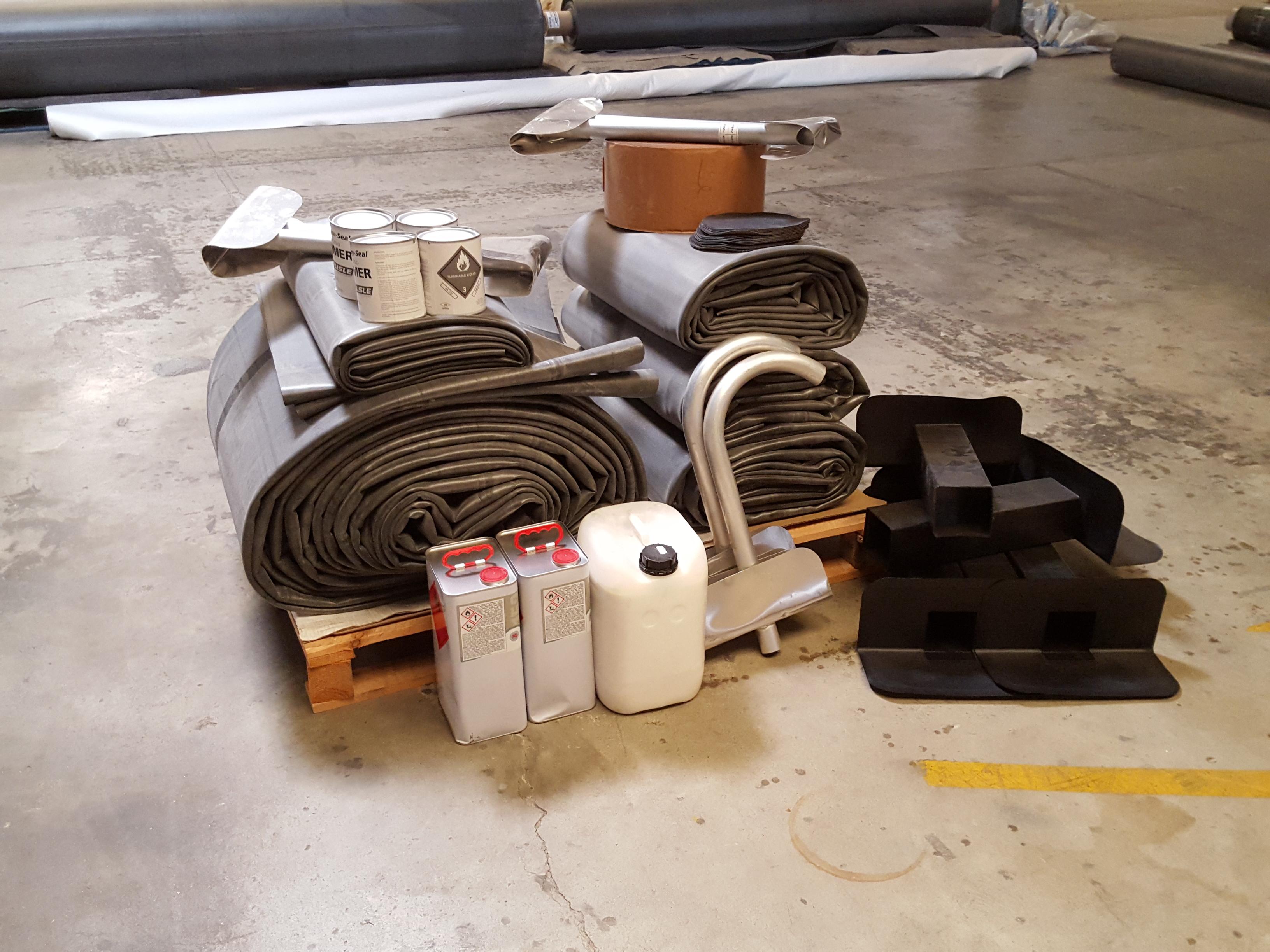 membrane epdm la coupe pour toiture largeur de 4 57m. Black Bedroom Furniture Sets. Home Design Ideas